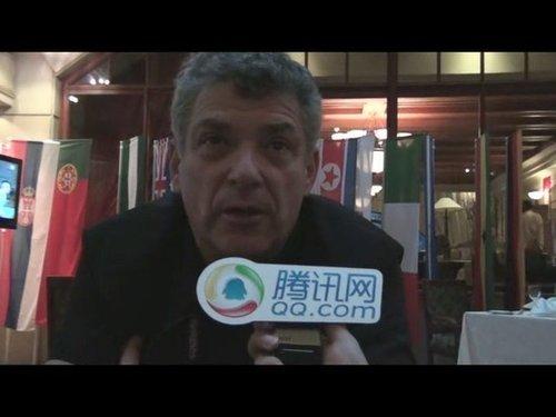 实录:维拉做客 中国举办世界杯定无与伦比