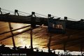 赛场上空的FIFA旗