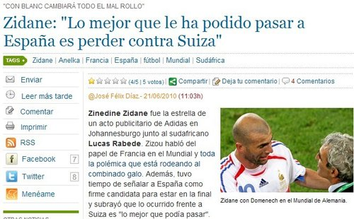 齐达内:西班牙必进决赛 布兰科将上演大逆转