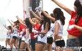 图文:阿根廷4-1韩国 首尔球迷倾城出动(323)