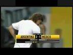视频:06世界杯回顾 阿根廷2-1墨西哥进八强