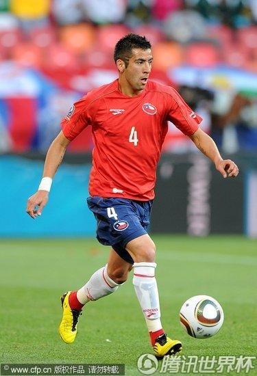 2010世界杯小组赛H组次轮:智利1-0瑞士