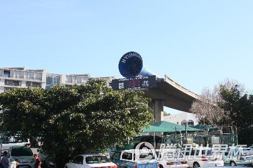 手记:全球最牛钉子户在南非 开普敦经典断桥