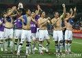 图文:意大利1-1新西兰 新西兰队员庆祝