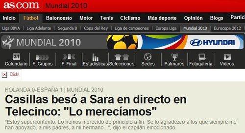 圣卡西:西班牙应得的胜利 感谢支持我们的人
