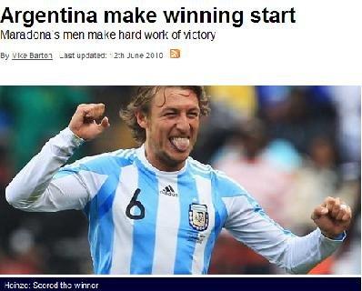 天空体育:阿根廷首胜 梅西引领进攻狂潮