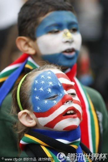 2010世界杯:伦敦为世界杯吹响号角