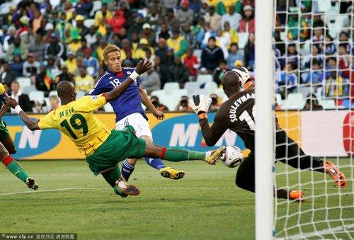 世界杯-日本1-0胜喀麦隆 欧冠联赛造绝杀英雄