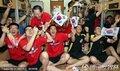 图文:阿根廷4-1韩国 首尔球迷倾城出动(320)