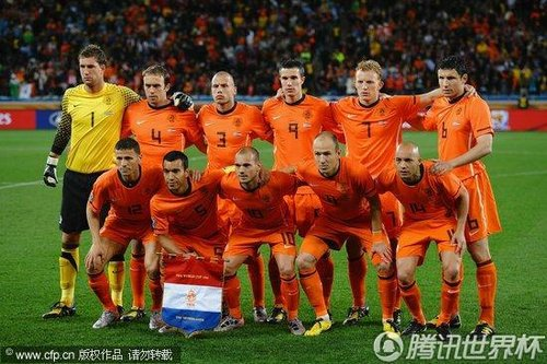 2010世界杯半决赛:荷兰Vs乌拉圭