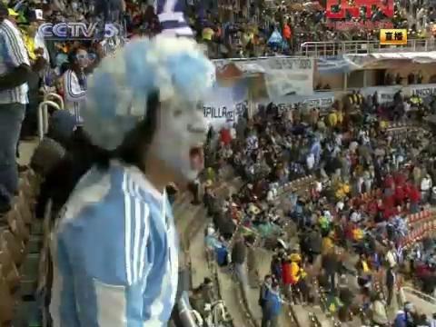 视频策划:希腊vs阿根廷花絮 阿球迷渴望夺冠