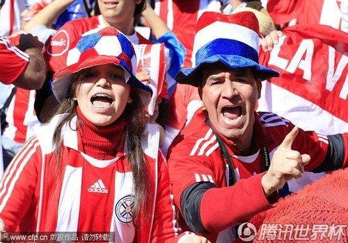 2010世界杯小组赛F组次轮:巴拉圭Vs斯洛伐克