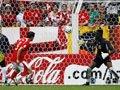 06世界杯进球FLASH:弗雷单刀小角度推射入网