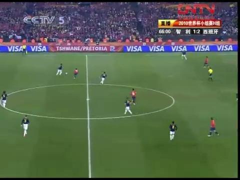 视频:智利VS西班牙65-70分钟比赛精彩回放