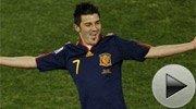 比利亚3球带领西班牙出线