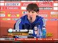 视频:马拉多纳回应质疑 队长梅西不在乎进球
