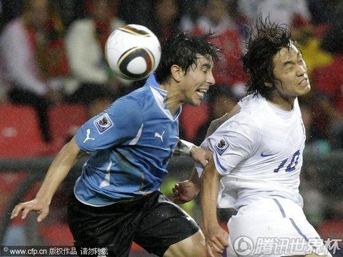 south africa soccer wcup uruguay south korea