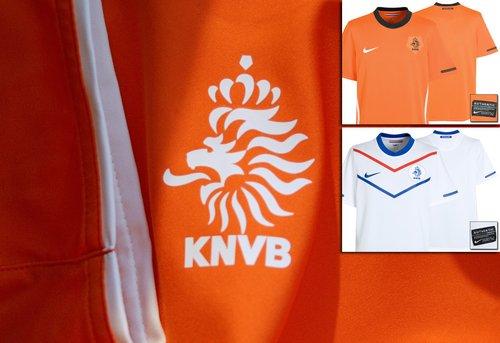 荷兰国家队球衣——回归橙色与黑色