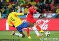 图文:巴西2-1朝鲜 志尹南临门一脚