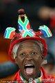 图文:加纳0-1德国 南非球迷到场助威