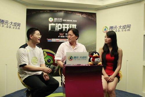 实录:《广沪开讲》21期 老马作为教练很成功