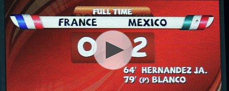 法国0-2墨西哥 下半场