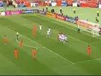 视频:橙衣天才鹰击长空 范佩西大力劲射入网