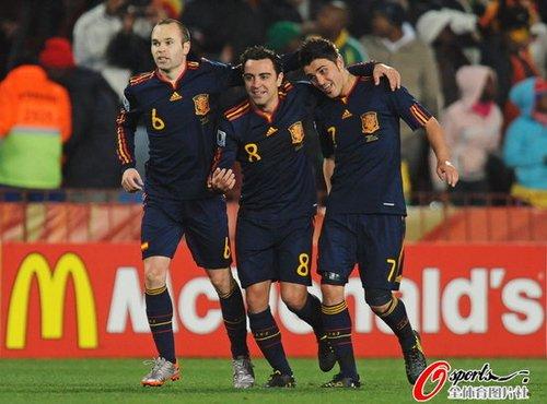 荷兰西班牙若会师决赛 世界杯诞生第8个冠军