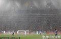 大雨下比赛