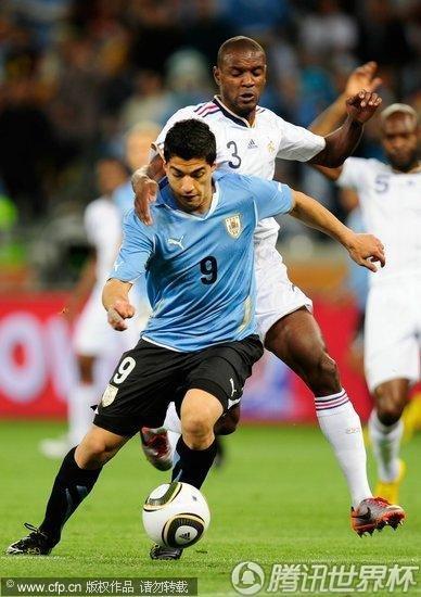 2010世界杯A组:法国Vs乌拉圭