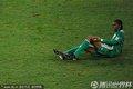 尼日利亚队员倒地