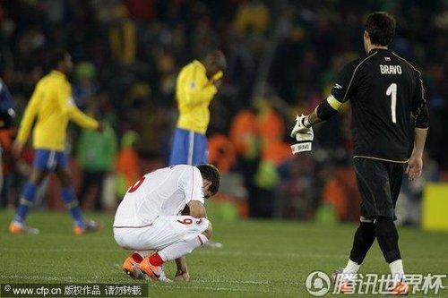 2010世界杯:巴西vs智利