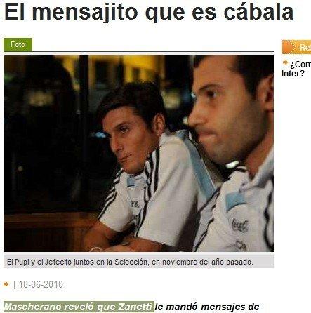 阿根廷连胜萨内蒂送祝福 望决赛与祖国同作战
