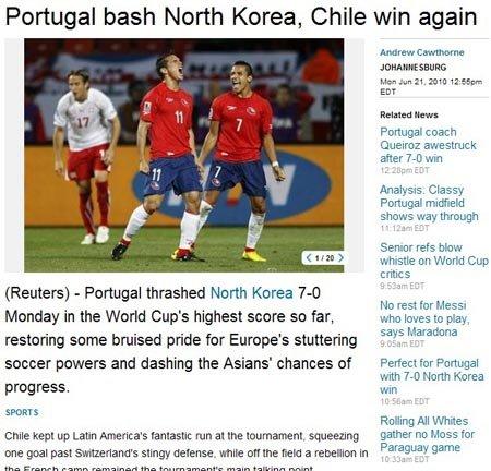 路透社:智利绝杀瑞士 总统与队员分享胜利