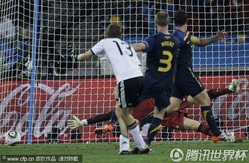 2010世界杯小组赛:德国vs澳大利亚