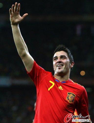 比利亚屡屡挽救西班牙