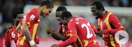 乌拉圭5-3(点)加纳 上半场
