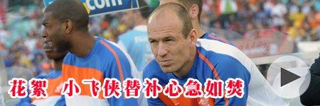 荷兰VS日本花絮