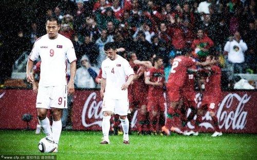 朝鲜56年后演韩国悲剧 7-0惨败写进历史前五