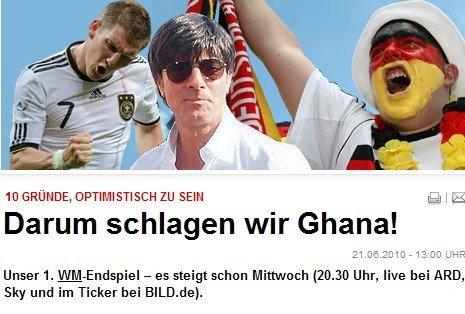 德国胜加纳10理由:太太团助阵 为巴拉克复仇
