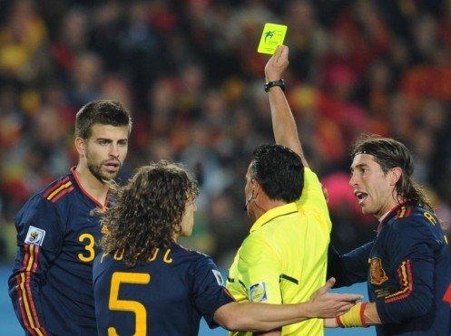 西班牙险被莽汉葬送 送点球前8次犯同样错误