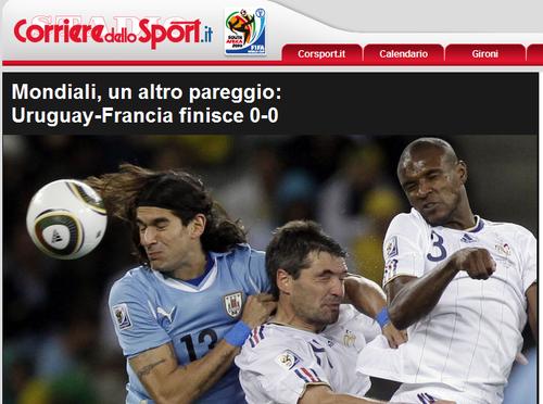 罗马体育报:法国未出低谷 多梅内克压力不减