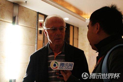 专访贝肯鲍尔:普拉蒂尼没问题 决赛胜负难料