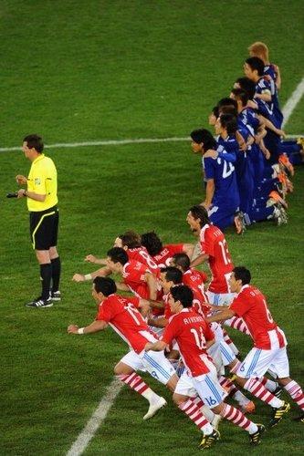 点球大战 巴拉圭淘汰日本进八强