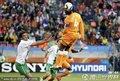 图文:科特迪瓦0-0葡萄牙 图雷头球解围