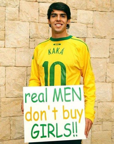 卡卡微博声援反对卖淫 是真男人就不该去嫖娼
