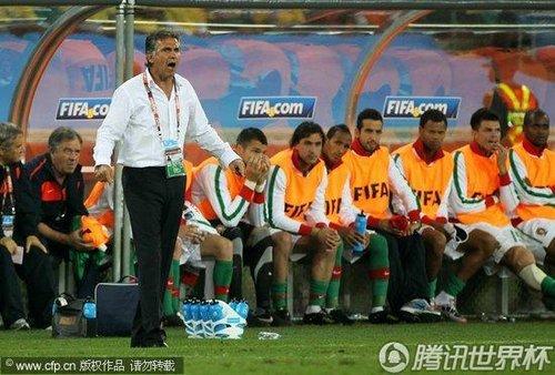 2010世界杯小组赛G组末轮:葡萄牙0-0巴西 双方携手晋级