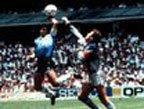 视频:世界杯经典上帝之手 阿根廷1-0英格兰