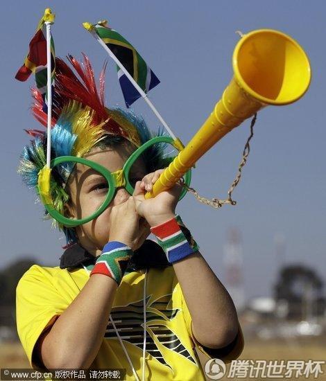 2010世界杯:开幕式隆重举行 非洲风情浓厚