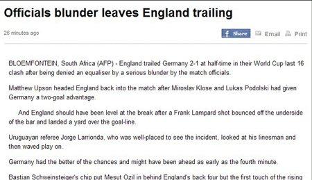法新社:愚蠢的裁判!世界杯史上最离奇判罚